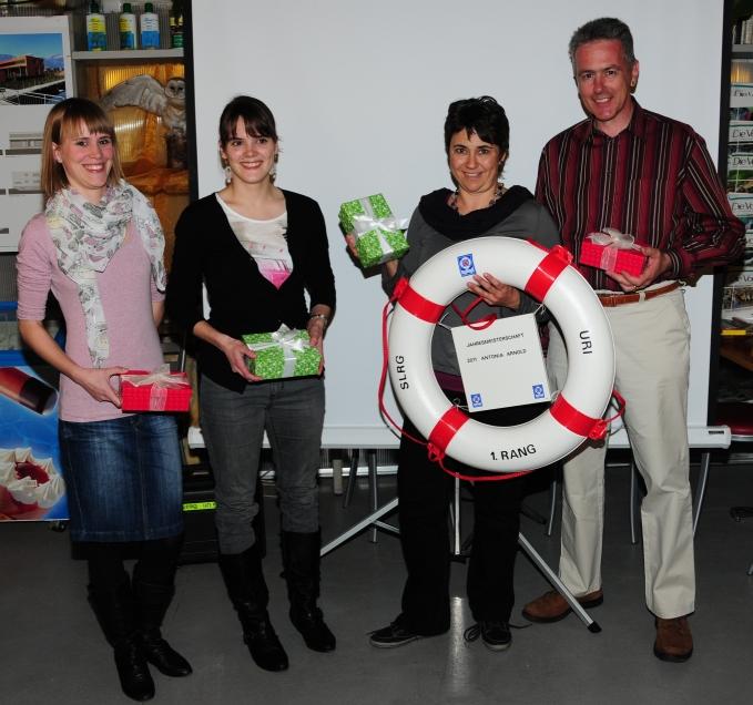 Sieger Quartett 2011/12